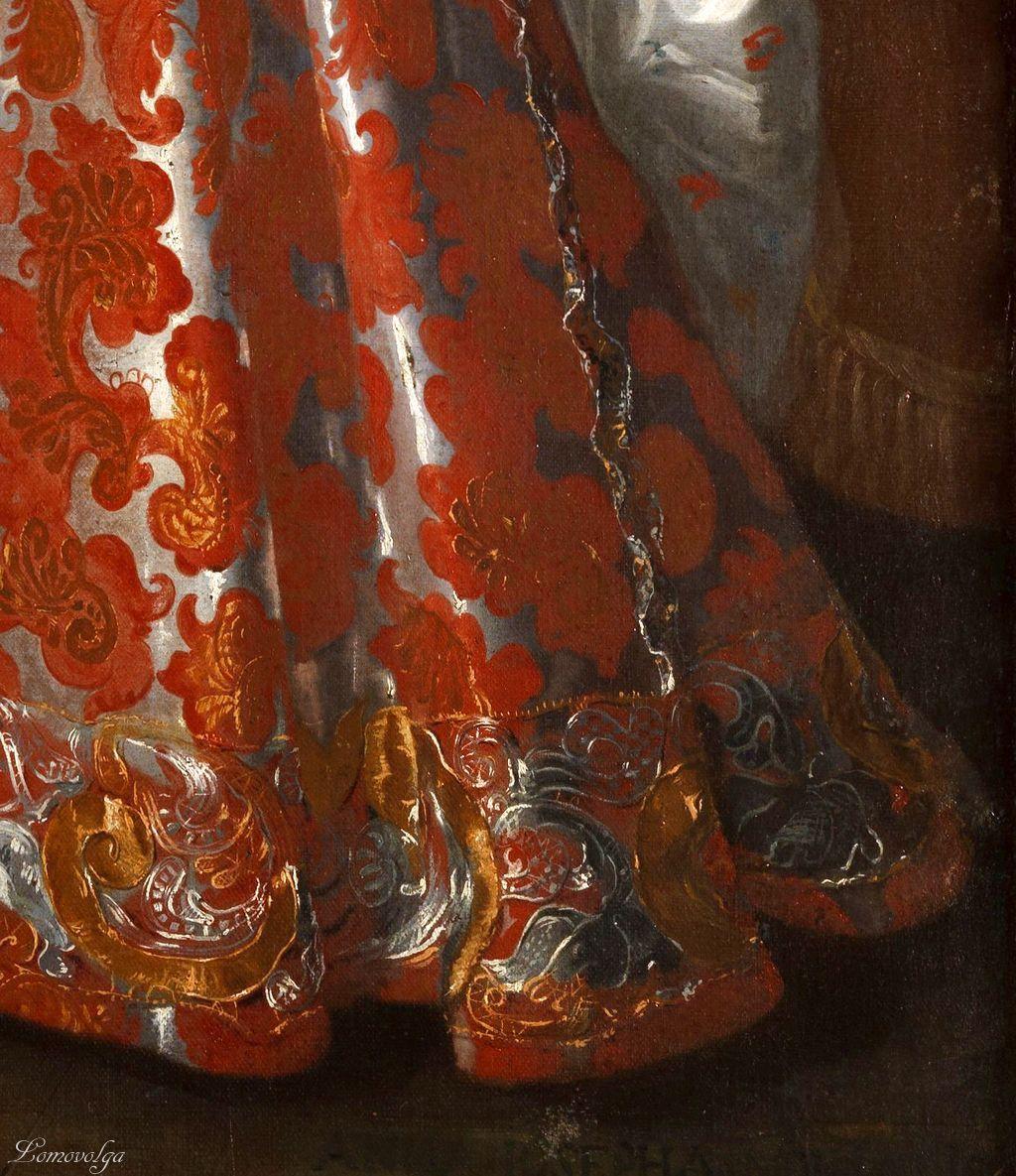 1680s - Anna Josepha Arconati attributed to Pier Francesco Cittadini detail