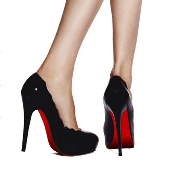 85d21f6c1bd The Easiest DIY for Red Bottom Heels - Red Sole Shoe Stickers Instant  Christian Louboutin Look!