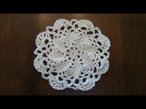 Crochet Swirl Motif Part 1 Youtube Free Pattern Pinterest
