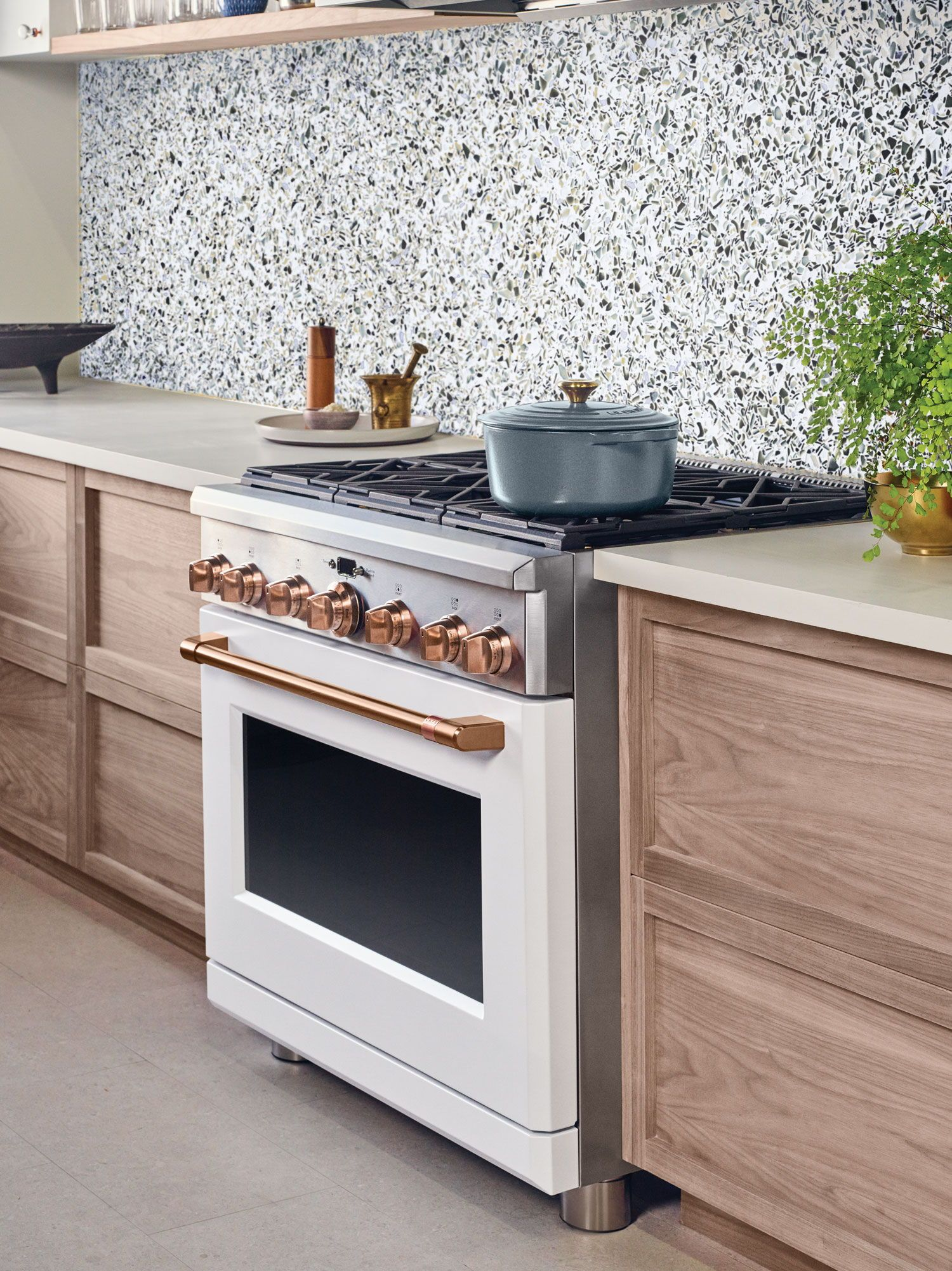 Statement Copper Accents In A Modern Kitchen Sponsored Modern Kitchen Appliances Popular Kitchen Designs Outdoor Kitchen Appliances