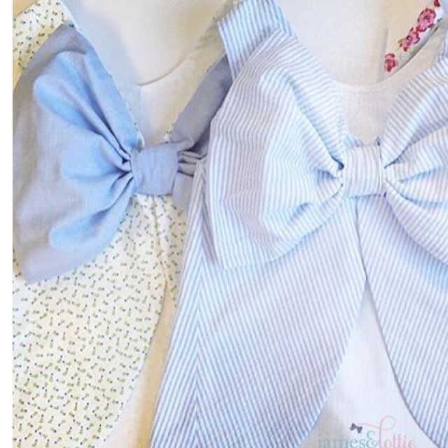 Lottie - Blue Rosebud with Blue Bow