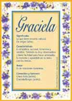 Graciela Name Meaning