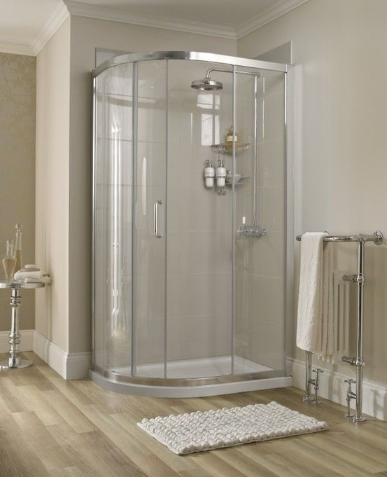 Atlas Offset Quadrant With One Sliding Door 1100 X 800 Quadrant Shower Enclosures Shower Cubicles Shower Enclosure