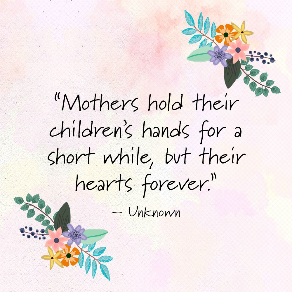 Mothers Day Quotes 15 Quotes Every Mother Should Read  Poem Inspirational And Wisdom