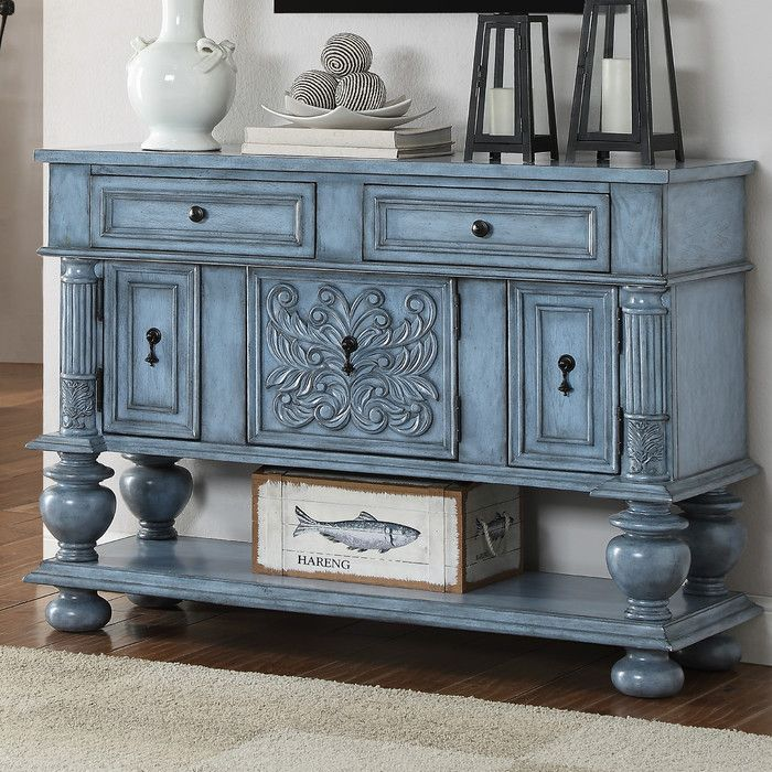 Coast To Imports 2 Drawer 3 Cabinet Credenza Reviews Wayfair