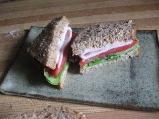 Turkey Caesar Sandwiches