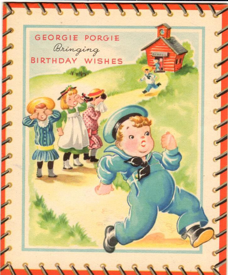 #birthday #vintage #retro #holiday #cards #card