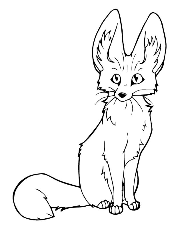 25 Interesting Fox Coloring Pages Your Toddler Will Love Fox