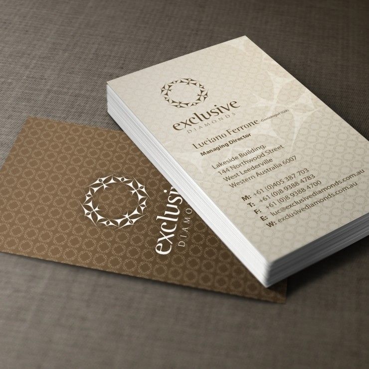 Exclusive diamonds business cards business cards pinterest exclusive diamonds business cards colourmoves
