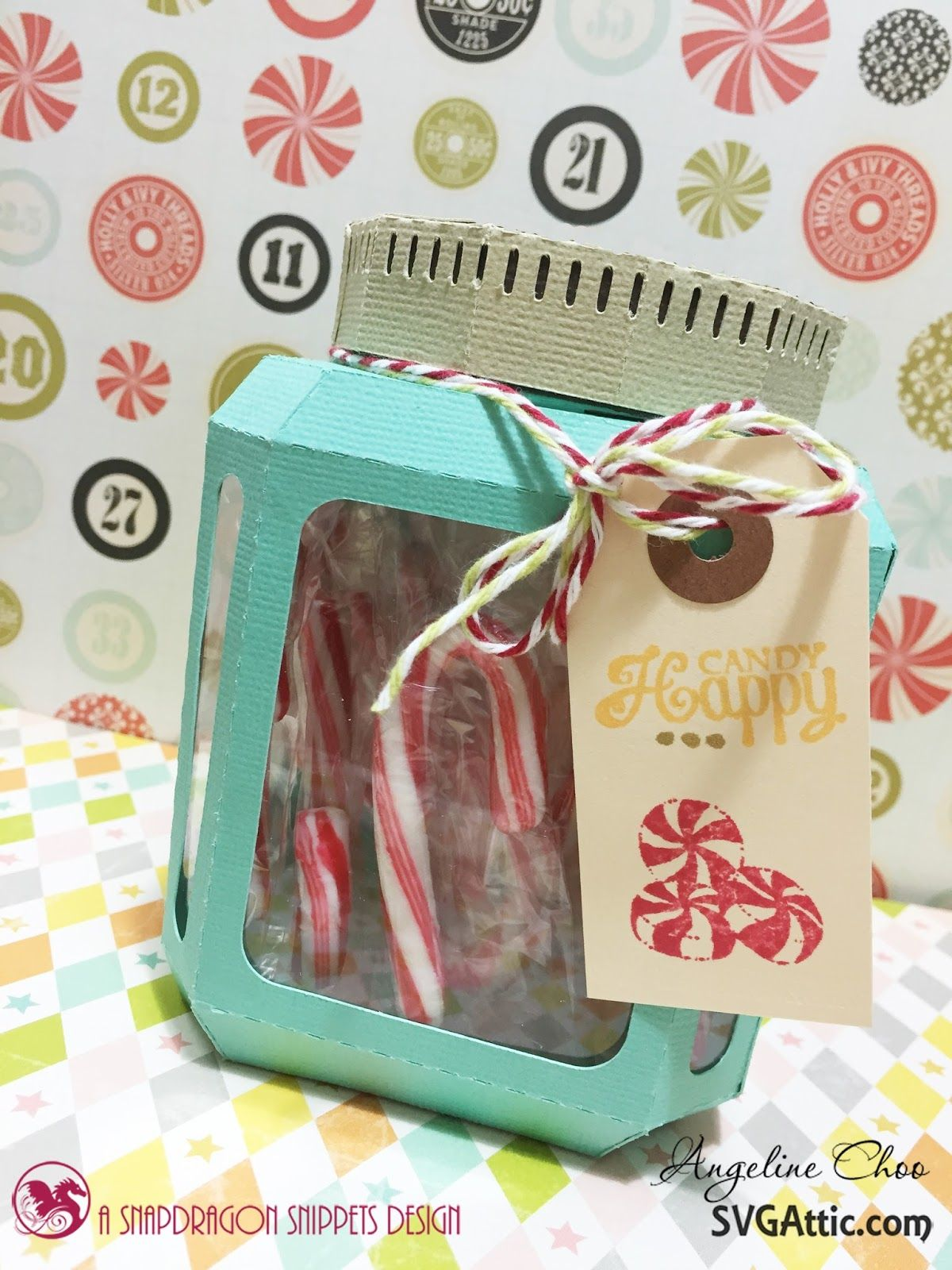 SVG Attic Candy Canes in a Jar with Angeline Choo