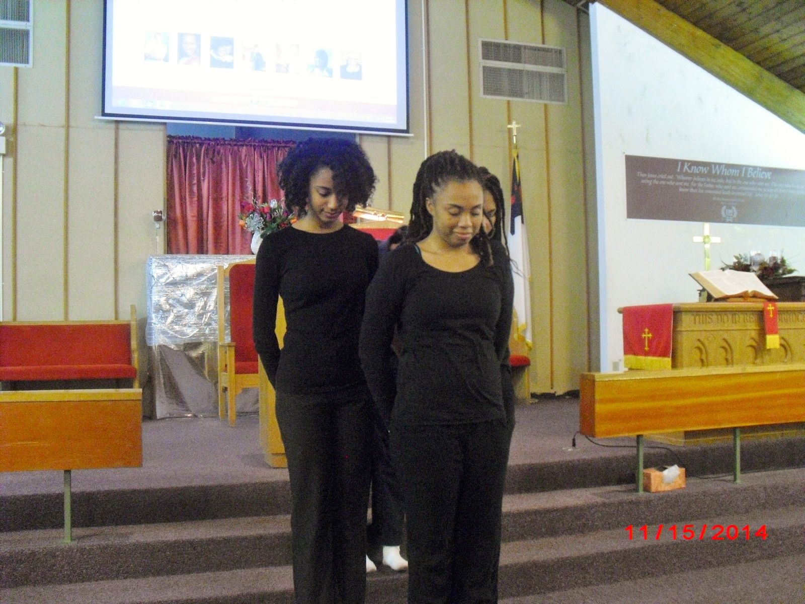Jewels of Christ Youth Dance Ministry going forth in dance ministry.