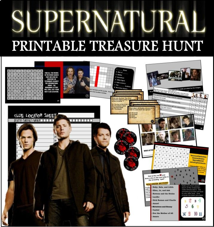 Happy Birthday Card with Dean Winchester – Supernatural Birthday Card