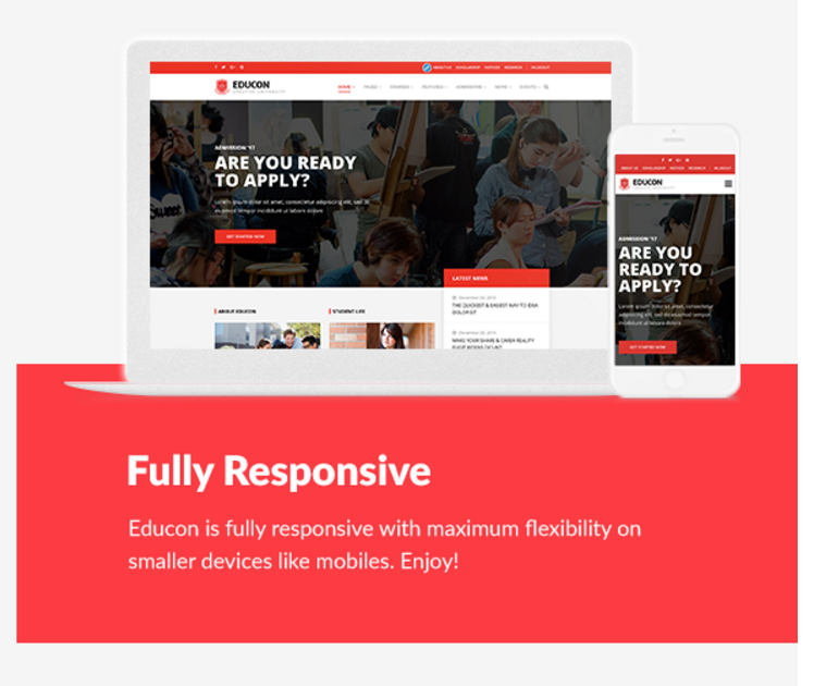 Educon Education WordPress Theme Free 2017 Themes Plugin Blogger Business Card