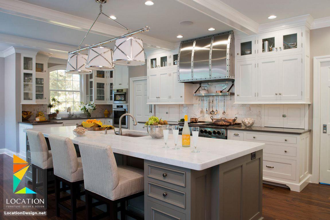 افضل انواع المطابخ بالصور لوكشين ديزين نت Traditional Kitchen Furniture Kitchen Remodel Kitchen Marble