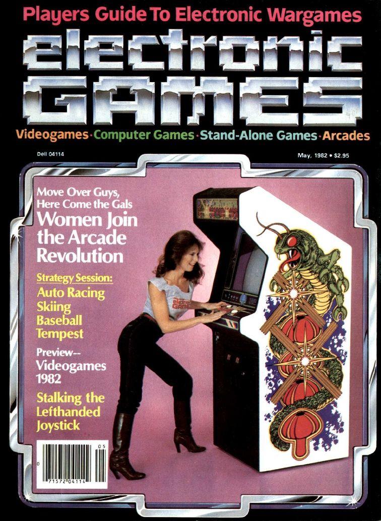 Electronic Games Magazine / 80s arcade | Arcade | Classic