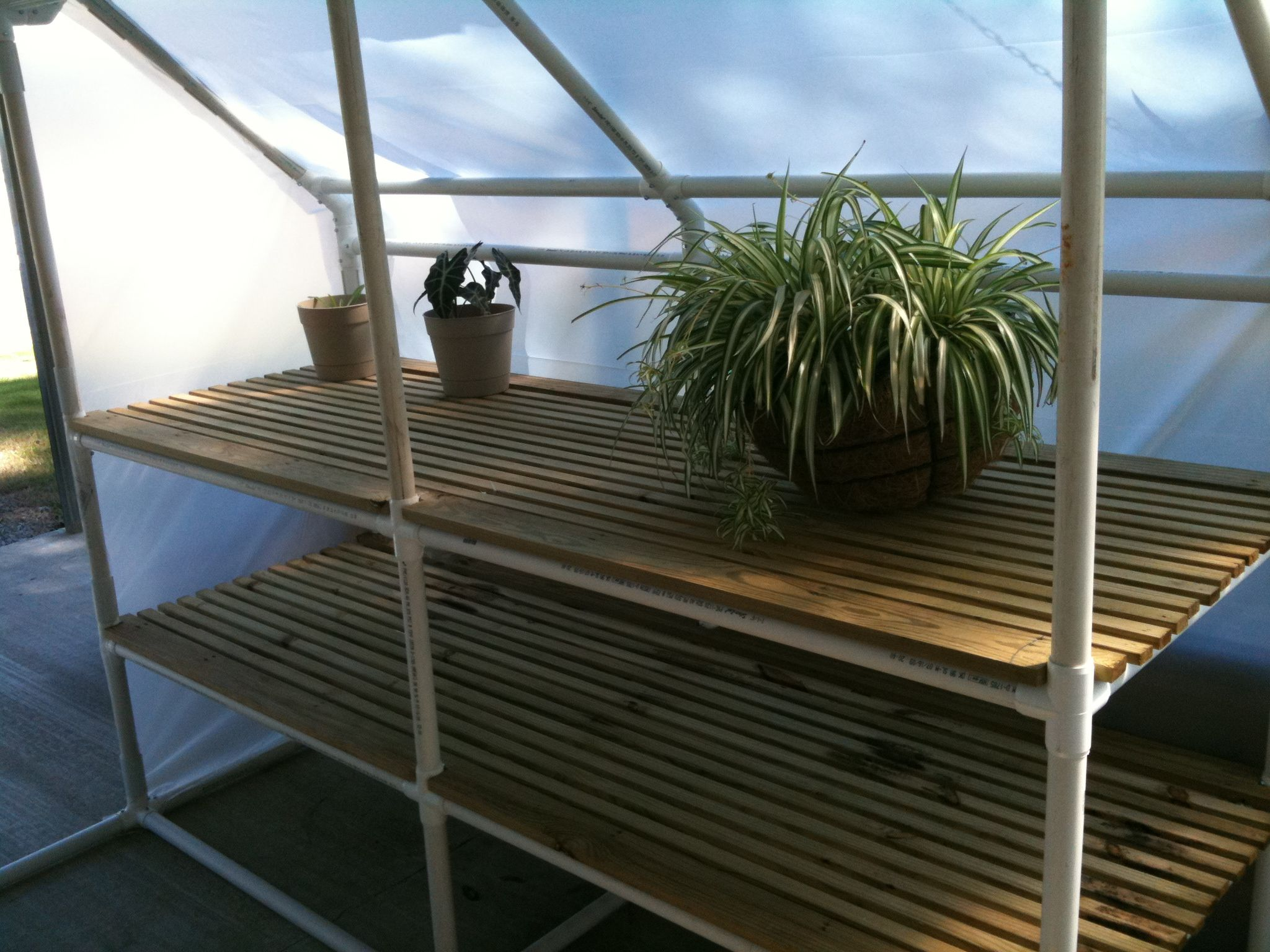 Build your own PVC Greenhouse. Fast, affordable, easy, and ...