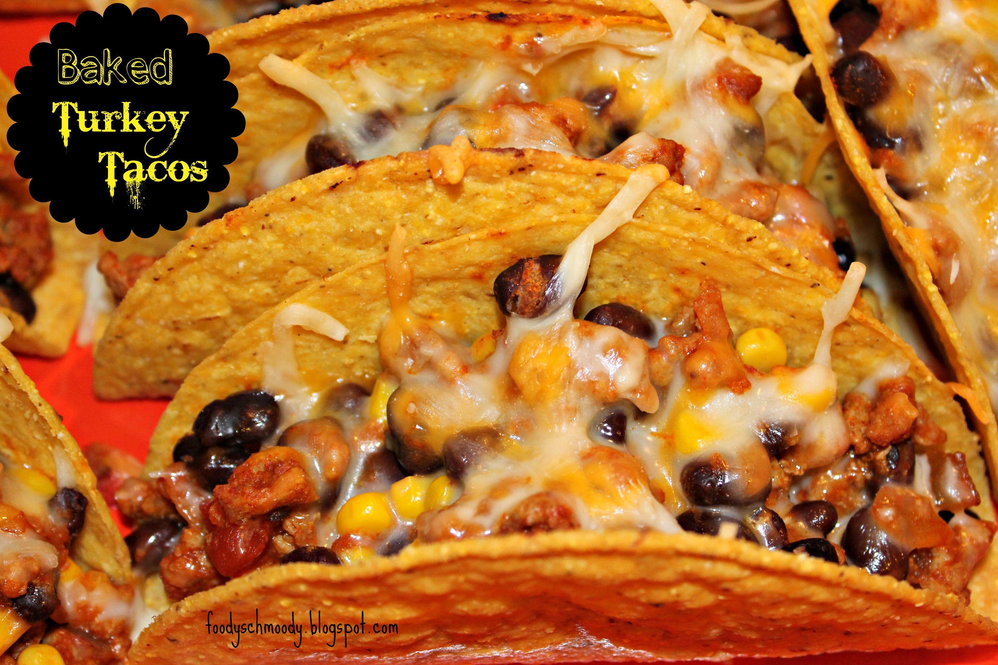 Oven Baked Turkey Tacos on MyRecipeMagic.com