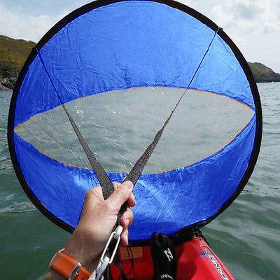 Foldable Kayak Sail Hands Free Wind Powered Kayak Paddling