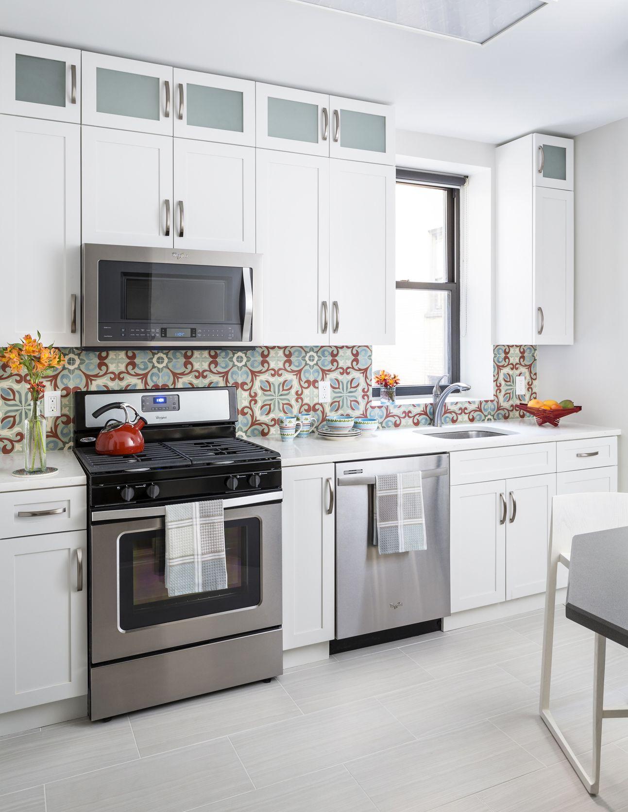 UWS Manhattan kitchen Designed by Tobi Wright of InsideWright ...
