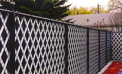Chain Link Fence With Aluminum Privacy Slats Fence Fabric Black Chain Link Fence Chain Link Fence