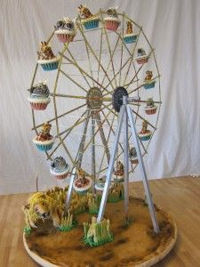 So Cool Ferris Wheel Cupcake Holder I Don T Even Know