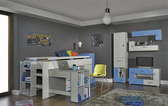 Komi B Jugendzimmer In Verschiedenen Farben Für Mädchen Buben Und
