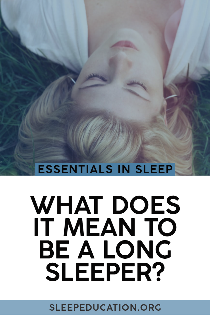 What Is A Long Sleeper? Sleep disorders, How to stay