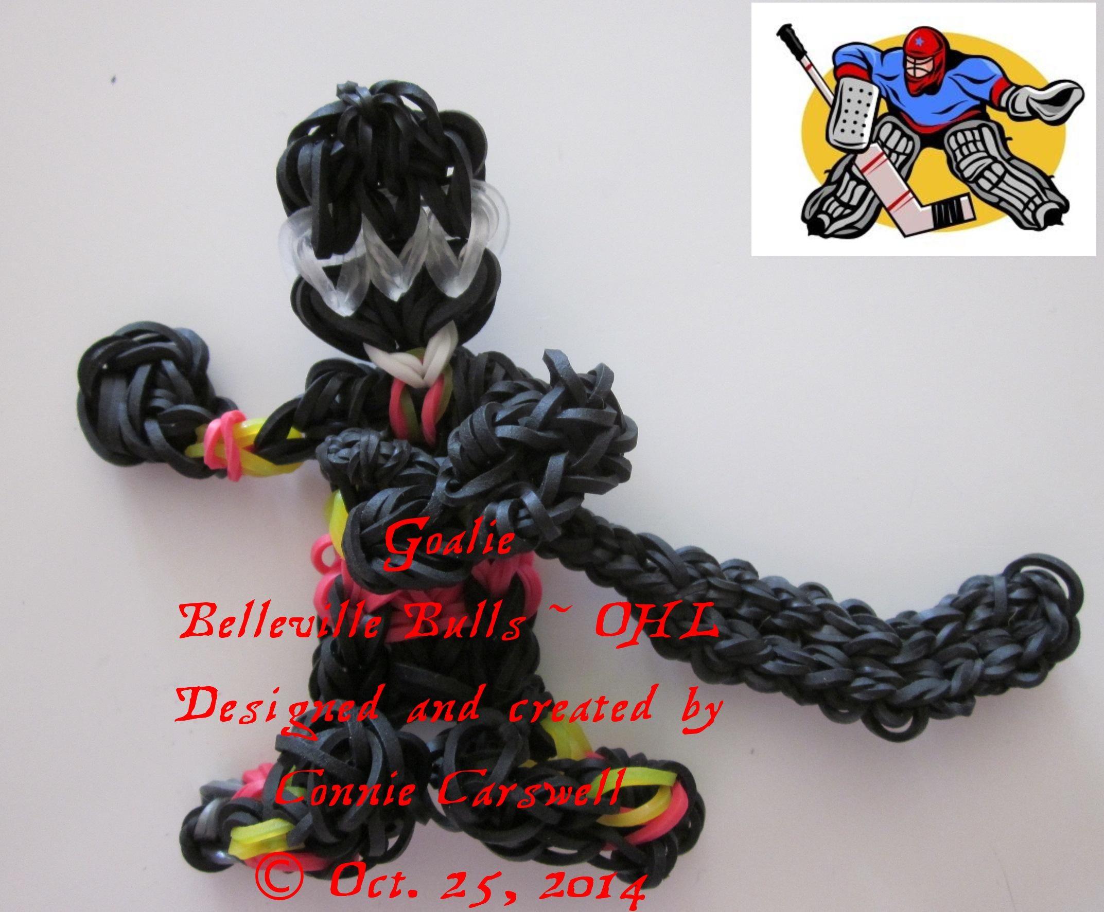 BELLEVILLE BULLS OHL designed at the request of Leslie
