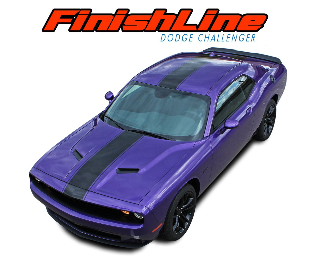 2011 2012 2013 2014 2015 2016 2017 dodge challenger finish line rallye redline style racing stripes vinyl graphics packages and decal kit model specific