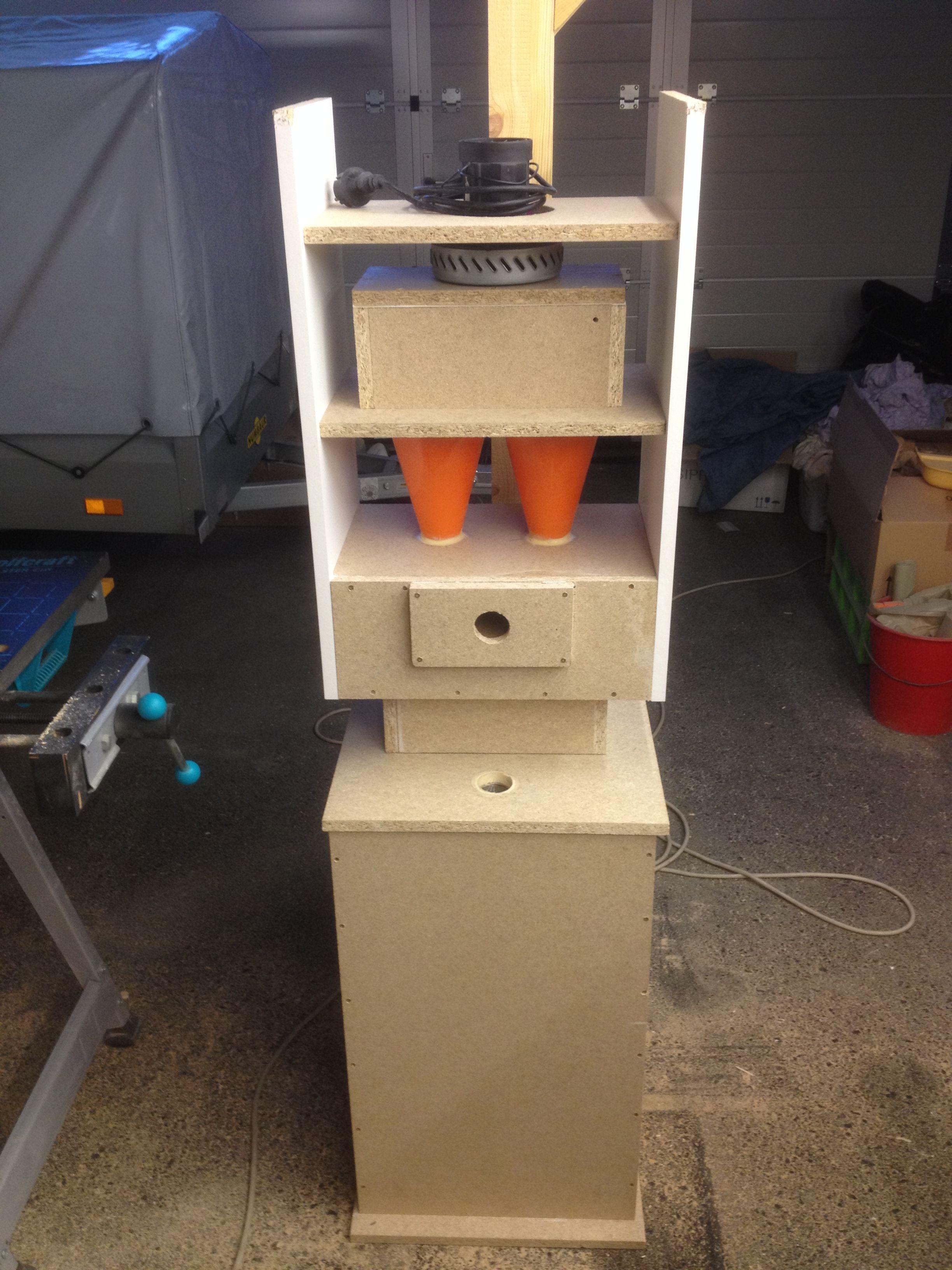 eigenbau zyklon staubsauger und in schrank eingebaut werkstattabsaugung pinterest. Black Bedroom Furniture Sets. Home Design Ideas