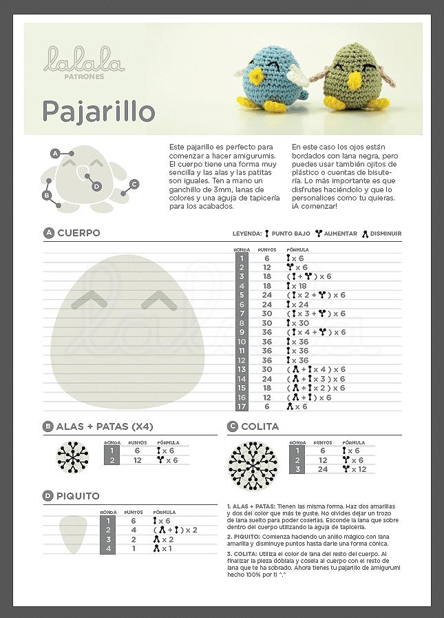 patrones-gratis-en-español-animales-crochet | Amigurimis | Pinterest ...