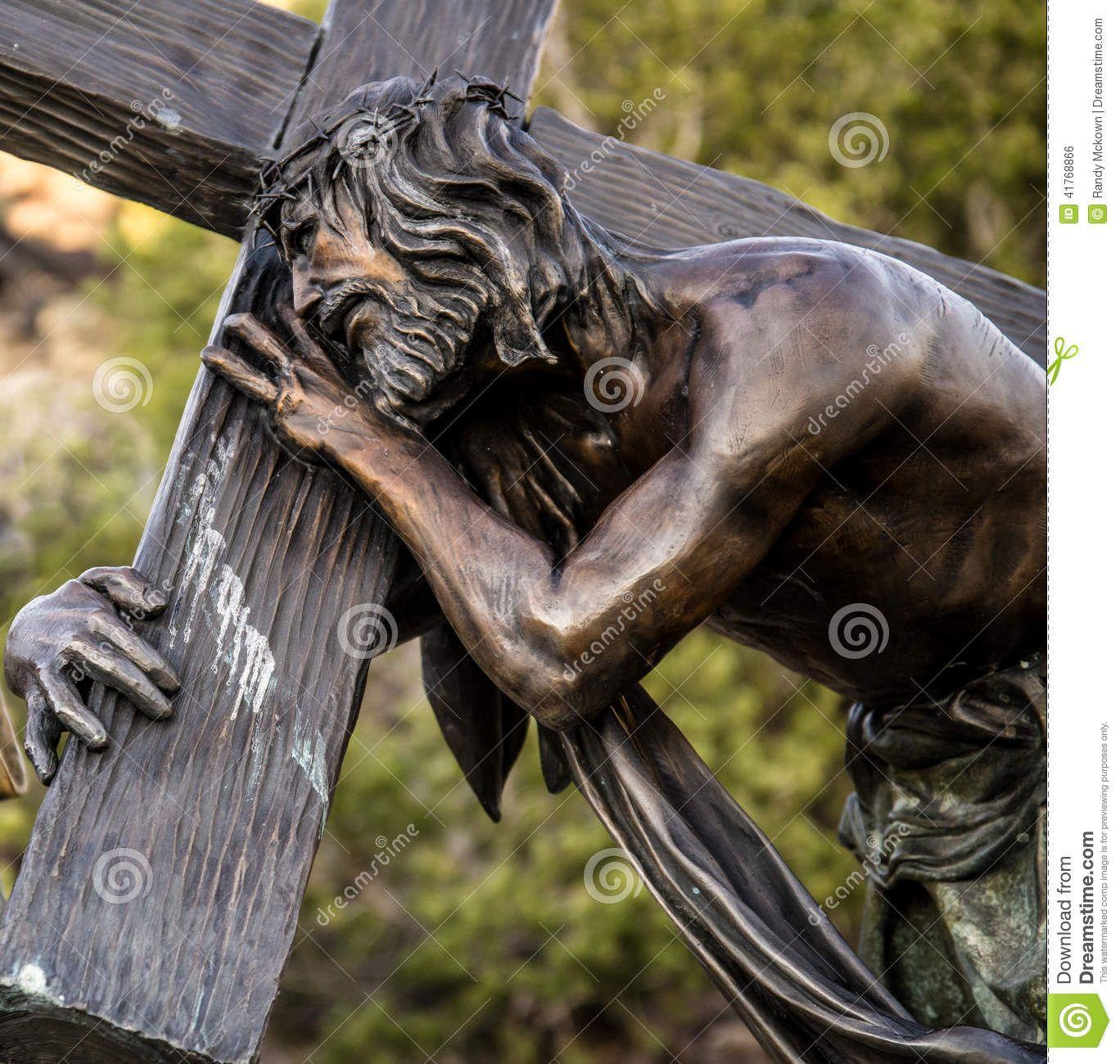 jesus carrying cross tattoo designs - Google Search   Angel tattoos ...