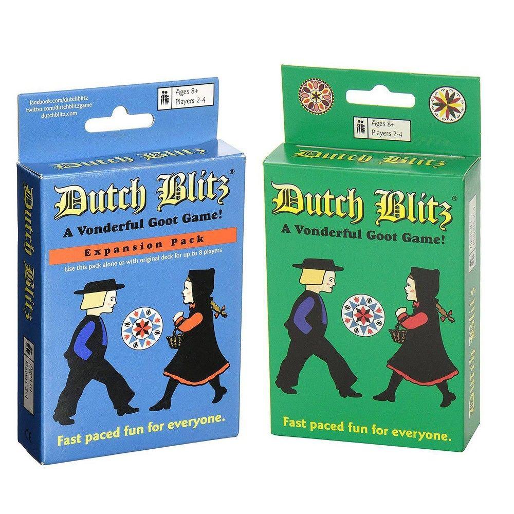 Dutch blitz multicolored set card game card games