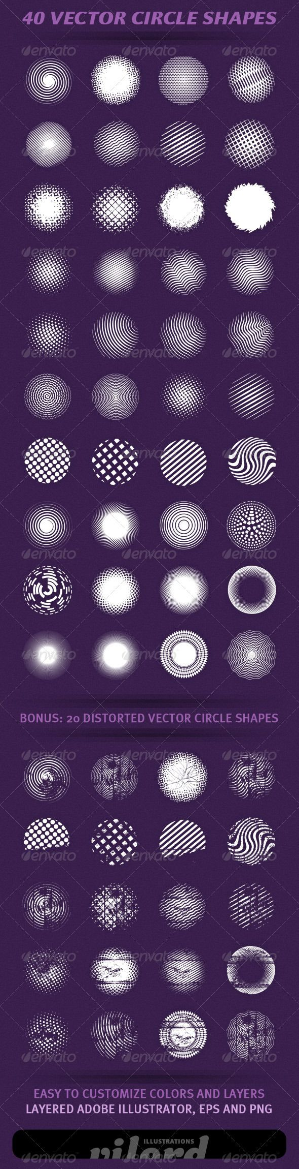 VECTOR DOWNLOAD (.ai, .psd) :: http://hardcast.de/pinterest-itmid-1001112216i.html ... 40 Vector Circle Shapes ...  abstract, circles, circular, decoration, ornaments, round, shapes, swirls, symbols, vector  ... Vectors Graphics Design Illustration Isolated Vector Templates Textures Stock Business Realistic eCommerce Wordpress Infographics Element Print Webdesign ... DOWNLOAD :: http://hardcast.de/pinterest-itmid-1001112216i.html