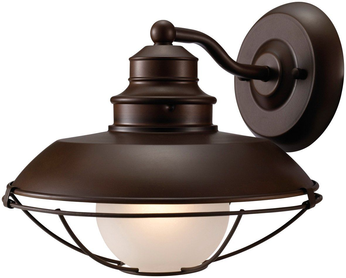Hardware House H10-2797 Barnyard Outdoor Light Fixture Down Light, Classic Brown