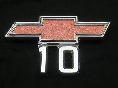#1967,1968 #chevy c-10 truck fender emblem #script pickup p-3893751, View more on the LINK: http://www.zeppy.io/product/gb/2/221994524512/