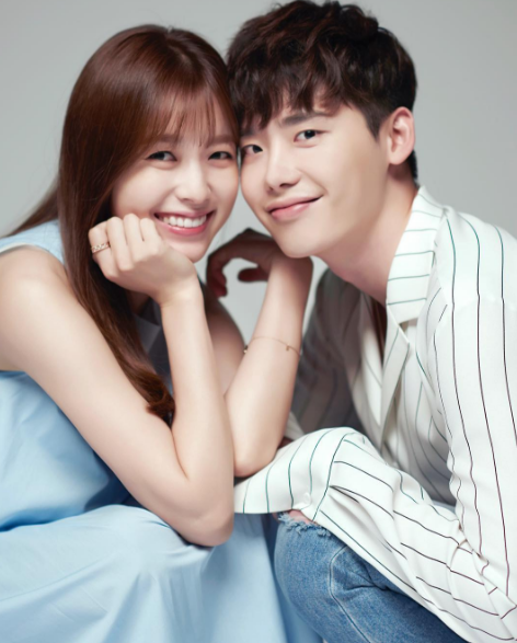 Lee Jong Suk And Han Hyo Joo Get Intimate In The Cutest Couple Photos For Their Upcoming Drama Lee Jong Suk Lee Jong Han Hyo Joo Lee Jong Suk