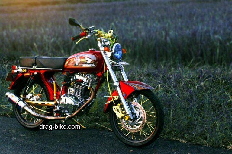 51 Foto Gambar Modifikasi Motor Cb 100 Terbaik Kontes Drag Bike Com Cafe Racer Honda Motor Gambar