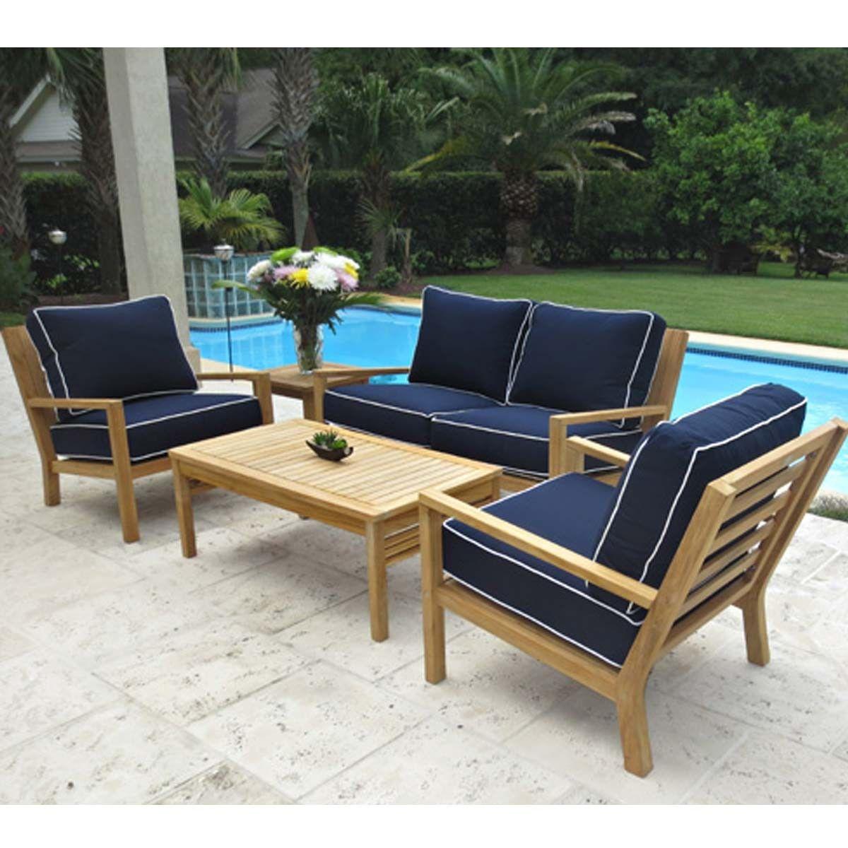 Coastal Patio Furniture Set