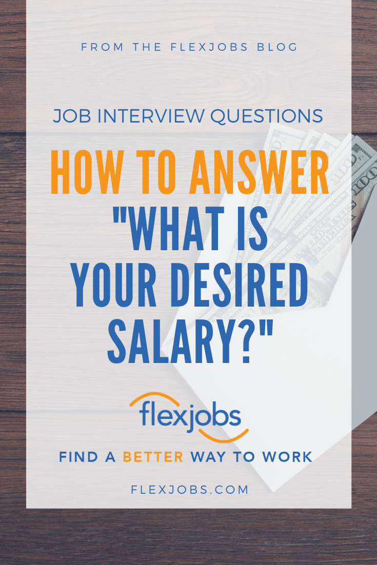 Successfully Answering What Is Your Desired Salary In 2020 Job Interview Questions Job Interview Salary