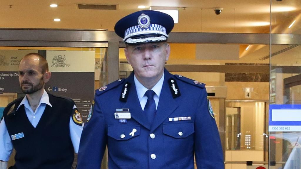 Assistant Commissioner Mick Fuller is seen as the