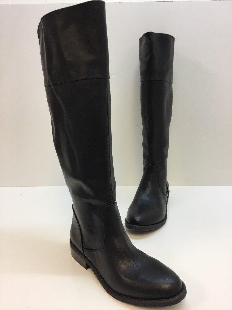 Aldo Gaila Black Synthetic Leather Knee