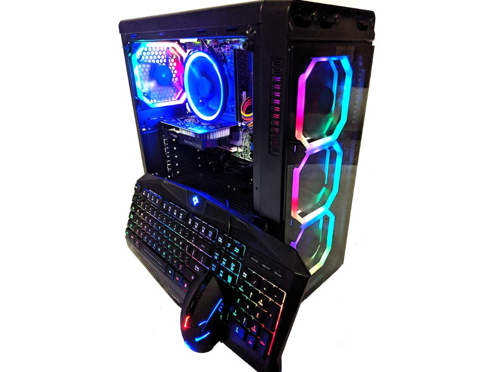 Cobratype Vipera Gaming Desktop Pc Geforce Gtx 1060 Intel Core I5 3 40ghz 8gb Ram 1tb 2x500 Windows 10 Wi F In 2020 Gaming Desktop Cheapest Gaming Pc Gaming Pc