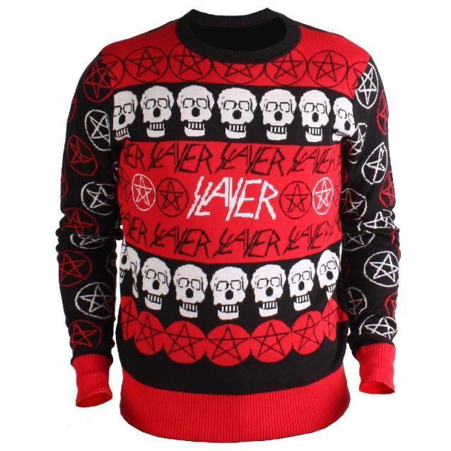 Sleigher Black Men/'s Christmas Jumper