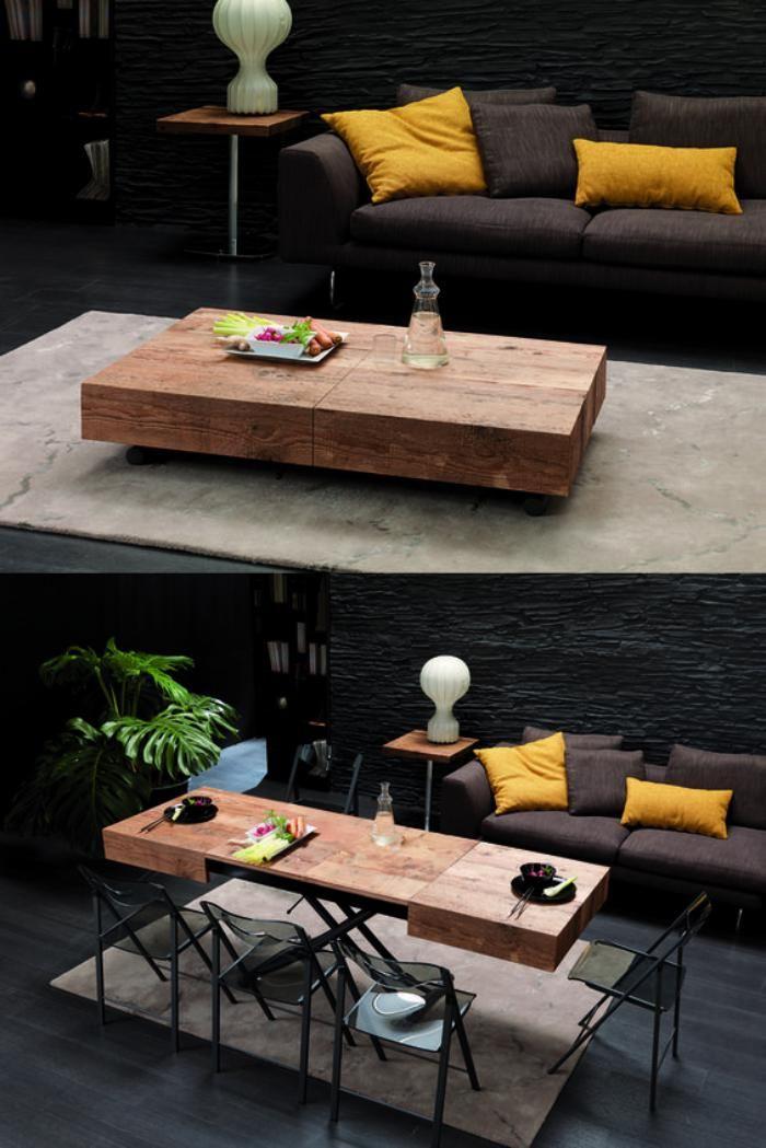 63 Modèles originaux de table gain de place! Salons, Smart - modele de salle a manger design