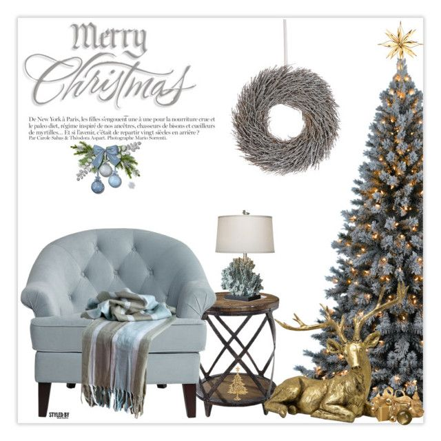 """Christmas Blessings"" by marion-fashionista-diva-miller ❤ liked on Polyvore featuring interior, interiors, interior design, home, home decor, interior decorating, Pacific Coast, Georg Jensen, Lord & Taylor and Anja"