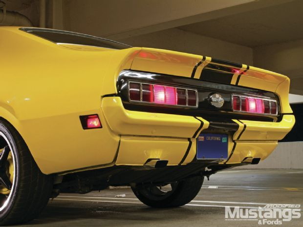 1971 Ford Maverick Bumble Bee Modified Mustangs Fords