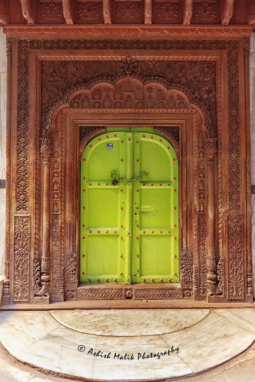 Temple Door - India