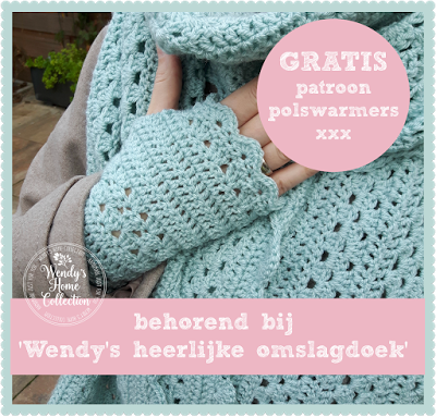 Gratis Patroon Polswarmers Wendys Home Collection Pinterest