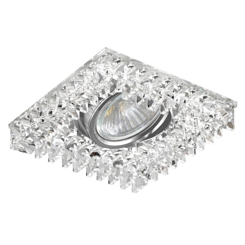 Luxera 71067 Luminaire Encastrable Crystals 1xgu10 50w 230v En 2020 Luminaires Encastres Luminaire Luminaire Exterieur